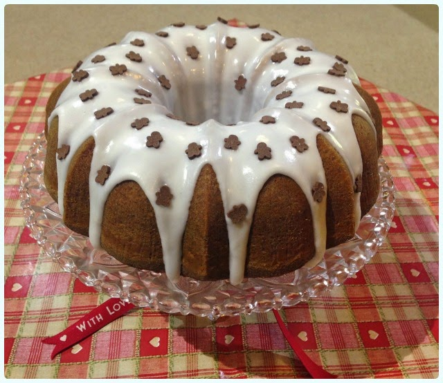 Festive Gingerbread Bundt