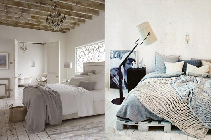 Heteruf Designs: Recamaras con diseño desde Shabby Chic a Moderno