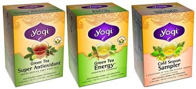 Amostra Gratis Chá Yogi Tea