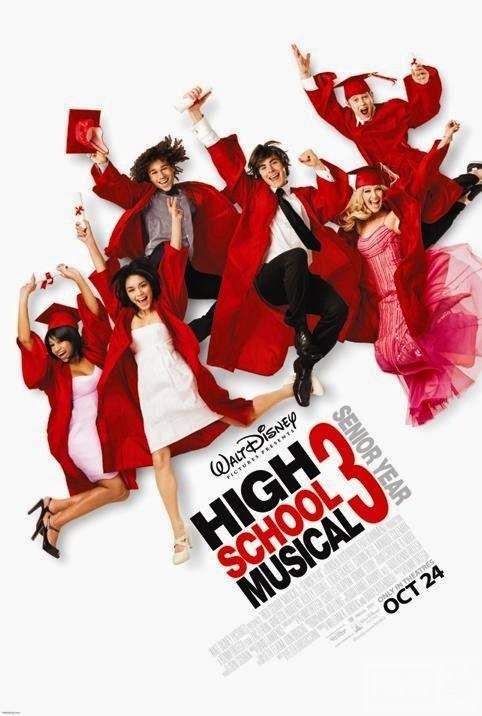 Poster phim Trường học âm nhạc 3: Lễ tốt nghiệp