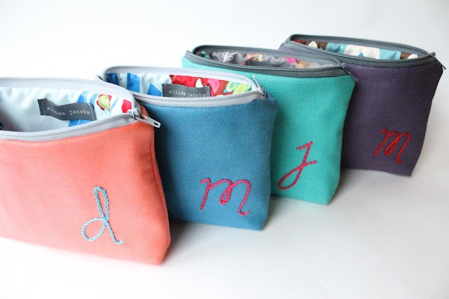 allisa jacobs personalized embroidery bags