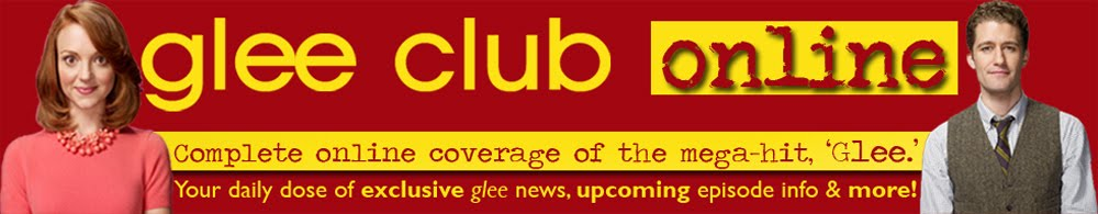 Glee Club Online | Daily Dose of Exclusive Glee News