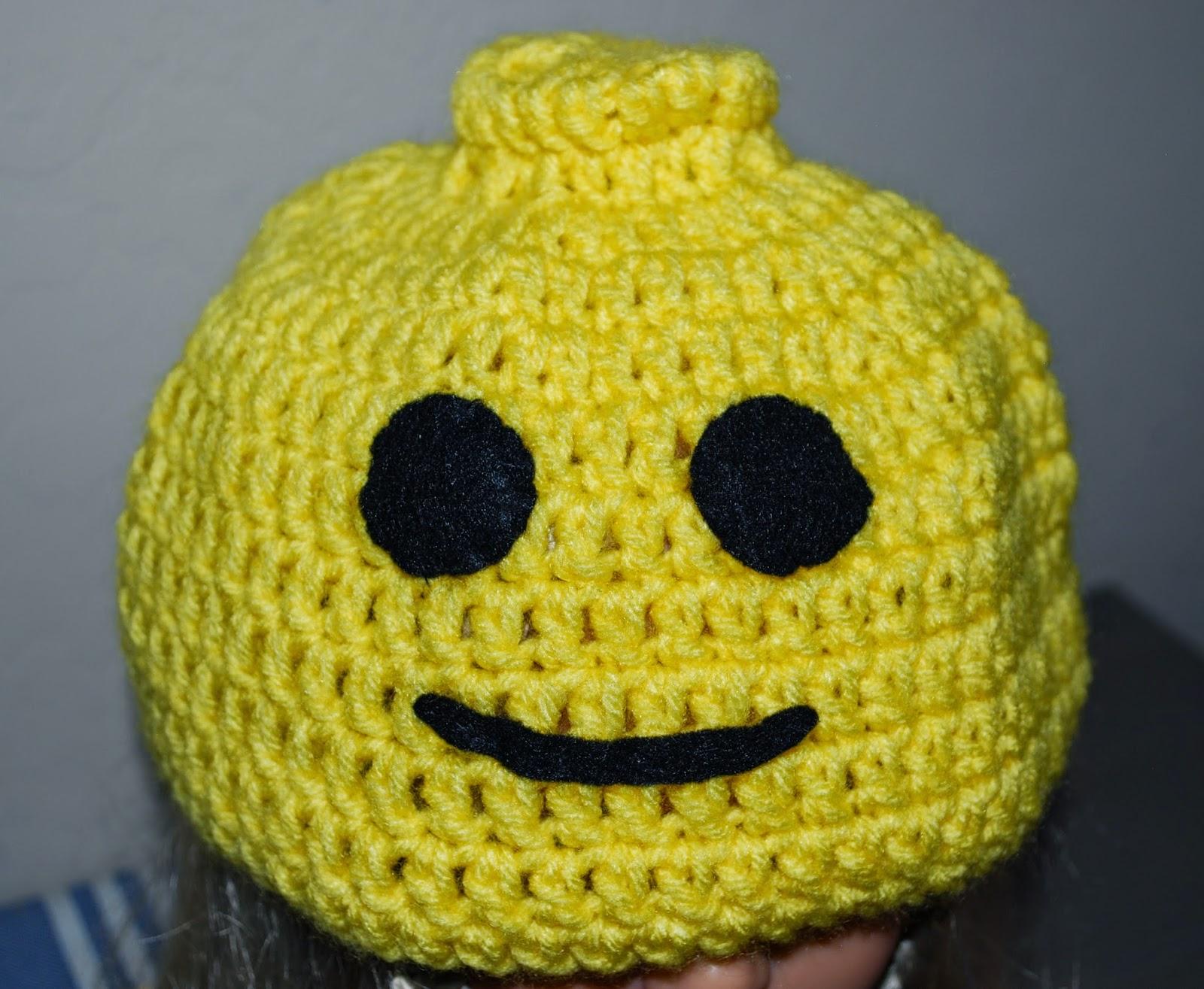 Crochet LEGO hat