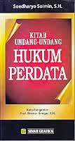 Kitab UU Hukum Perdata Pengarang Soedharyo Soiman, S.H