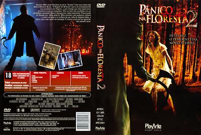 Pânico na Floresta 2 DVD Capa