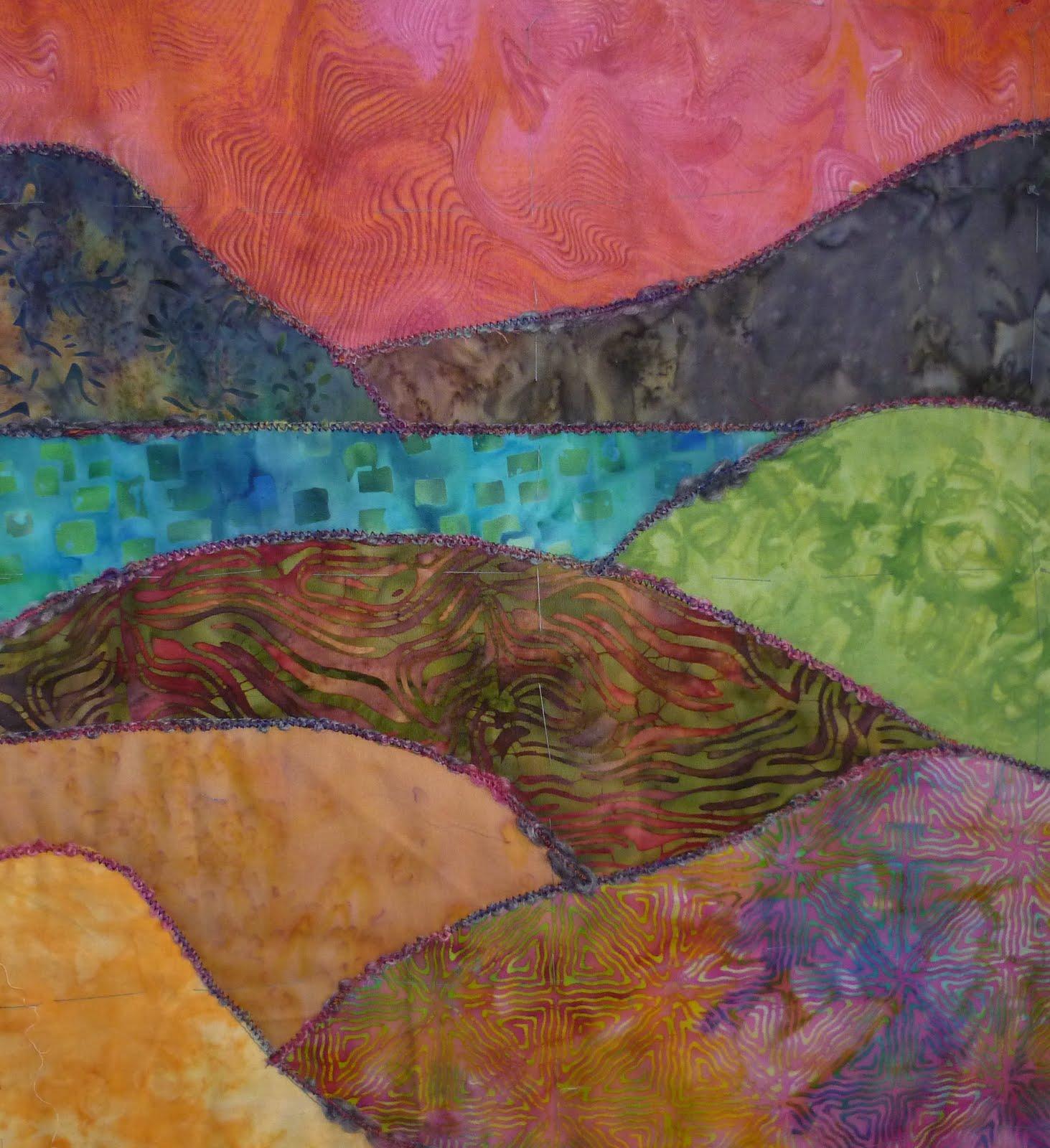 Jeaniality Patchwork Landscape workshop