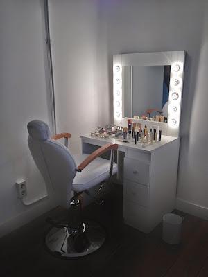 Parte de la sala VIP de I´m Pretty donde se utilizan producutos de lujo - Foto: Amaya Barriuso