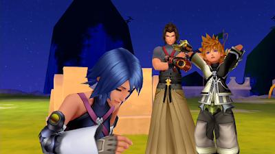 Kingdom Hearts Birth By Sleep Ventas Aqua Terra
