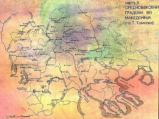ancient macedonia a map of the macedonian medieval cities according to professor tomo tomovski e maneva macedonian medieval jewelry map ii publicscrutiny Choice Image
