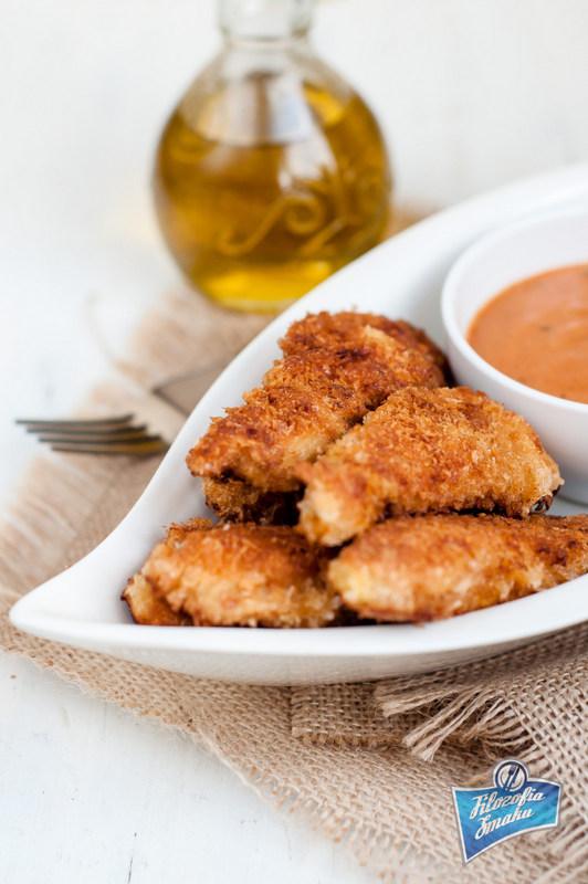 Smażone kąski z kurczaka