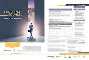 CORPORATE COUNSEL EXECUTIVE TRAINING
