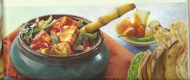 Microwaved Handi Paneer/Tofu