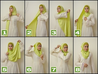 Tips Memakai Jilbab