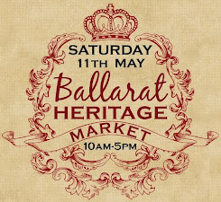 Visit me at the Ballarat Heritage Market