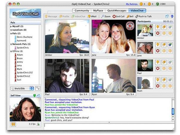 Download iSpQ VideoChat for Windows