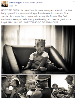 Wahu Pens Down A Sweet Happy Birthday Message Dedicated To Her Daughter-Nyakio!