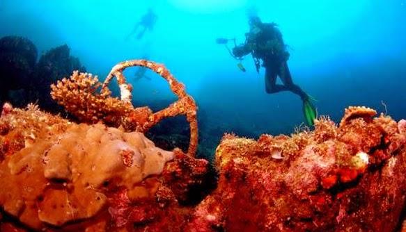 Keindahan Bawah Laut Morotai