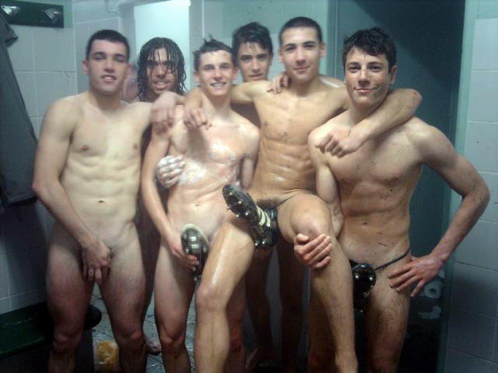 Nude lesbian making love