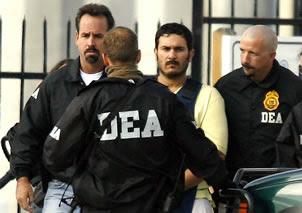 Agentes de la DEA en operativo