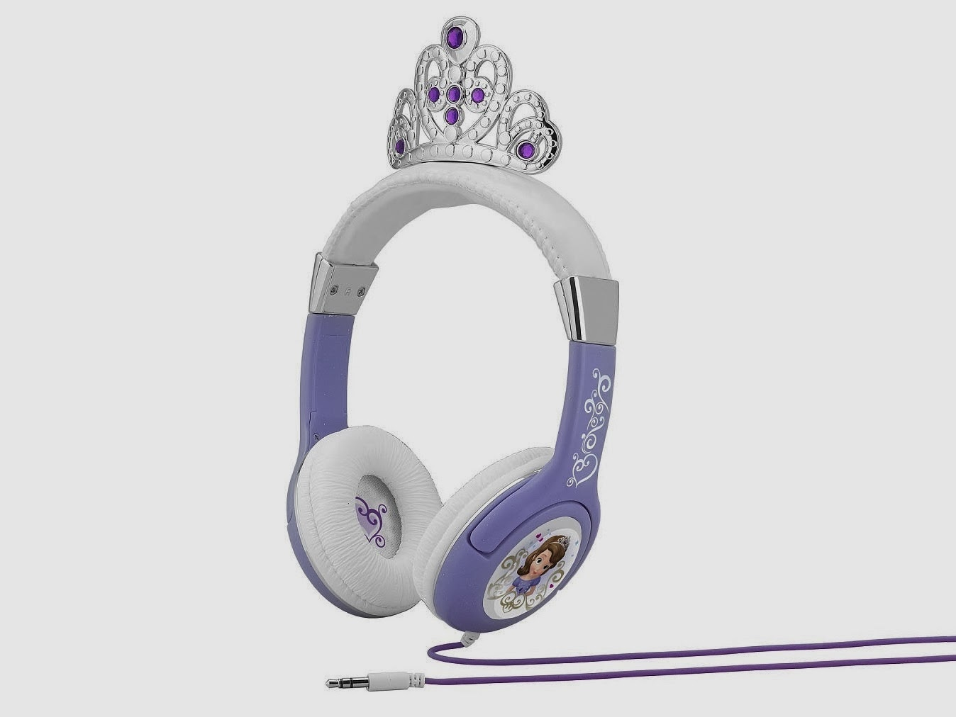 Sofia the First Princess headphones