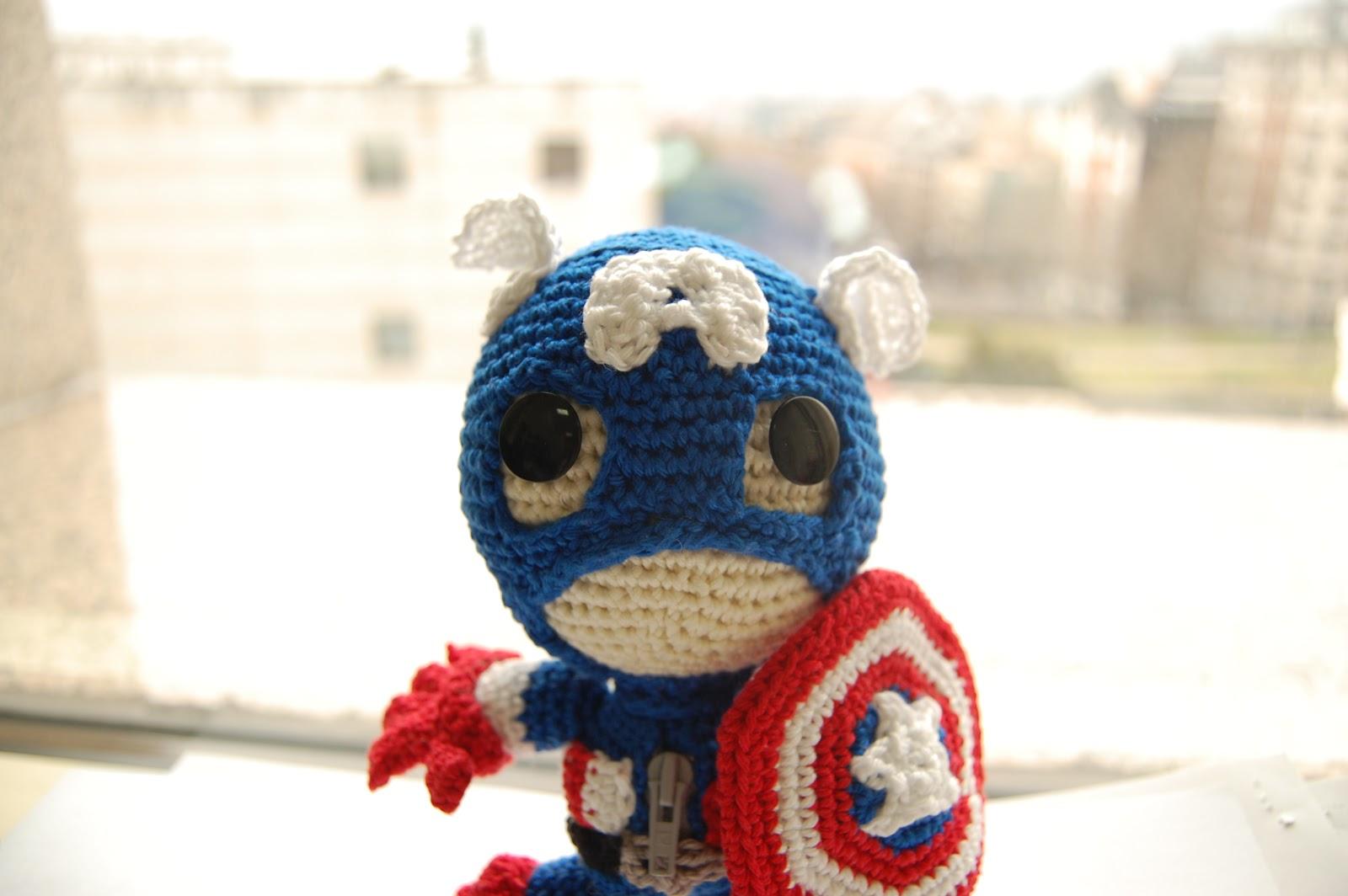 Y a mí, ¿qué gurumi?: Capitán América