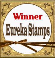 Winner Eureka Stamp Challenge #63