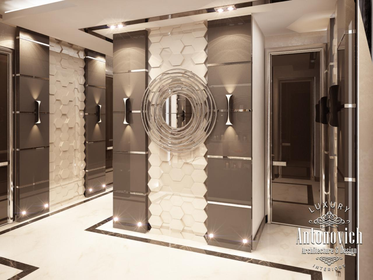 Beautiful dressing room design in dubai by luxury antonovich design - Modern Style In The Author S Works Of Luxury Antonovich Design Reflect Future In Interior Design