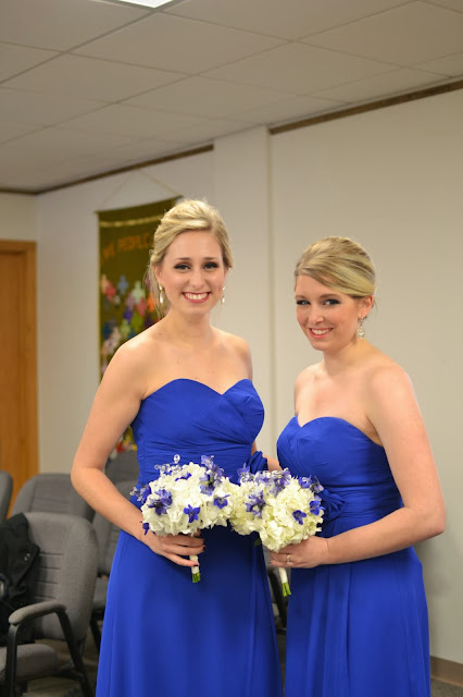 Bridesmaids Hair Makeup Dresses