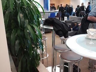 British Airways Lounge - San Francisco