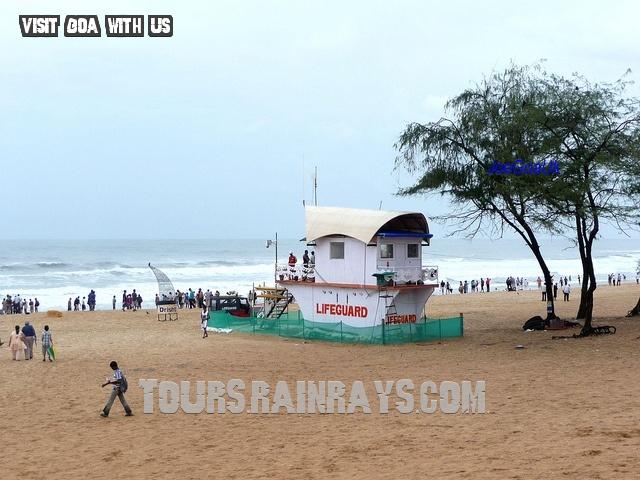 Calangute Beach Tourist Goa India. Incredible Real India Tours & Travels