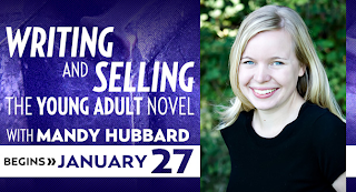 http://litreactor.com/classes/how-to-write-and-sell-the-young-adult-novel-with-mandy-hubbard