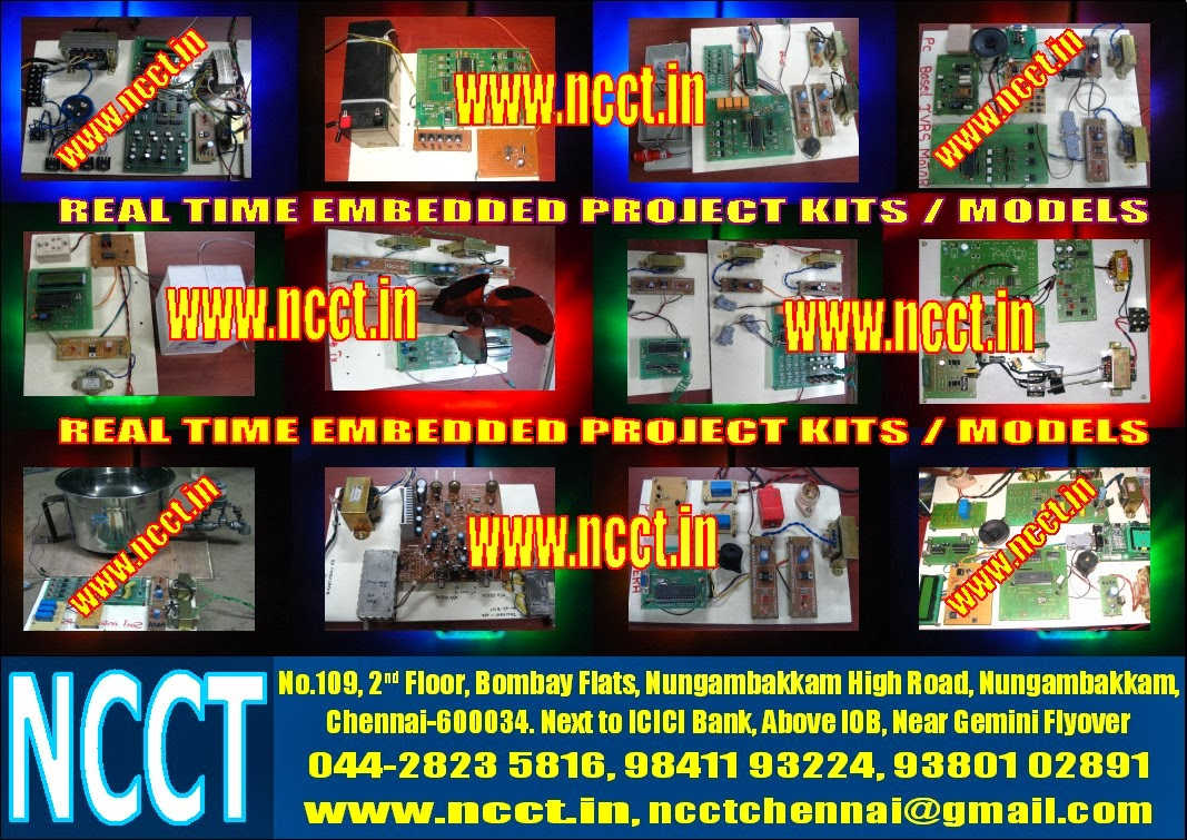 NCCT - PROJECT IMAGE GALLERY: Embedded Hardware Project ...