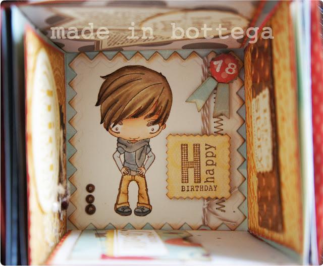 mini album box explosion
