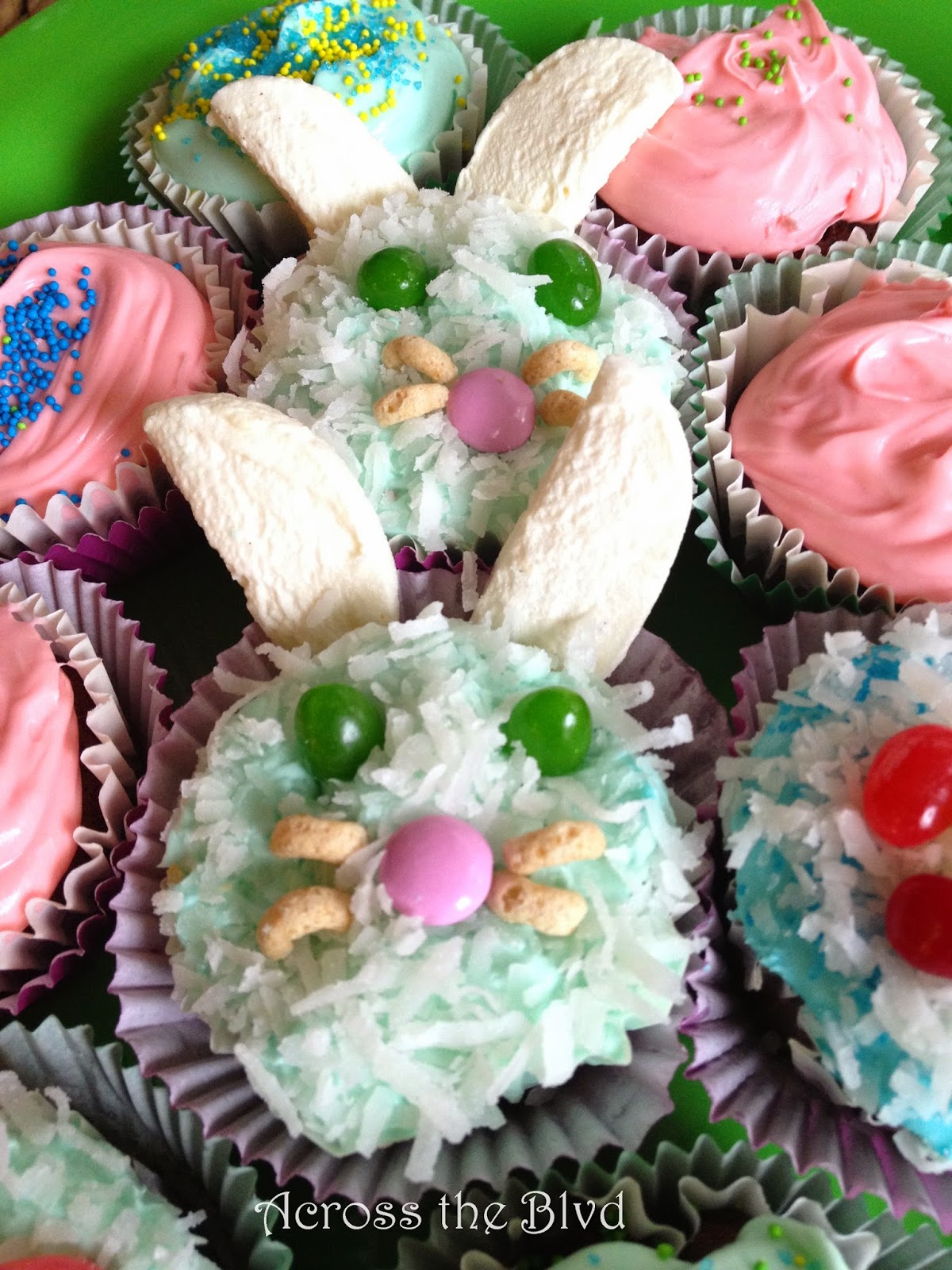 Chocolate Easter Muffins