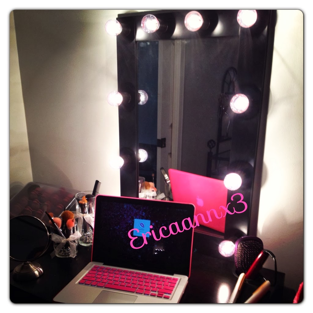 diy lighted vanity mirror. DIY Lighted Makeup Mirror  Broadway style Vanity Beauty Fashion and Lifestyle Blog