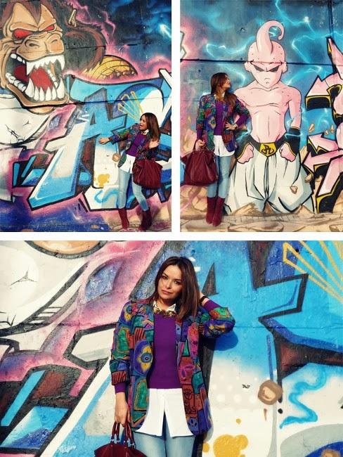 Amazing Street Art and Some Retro Style