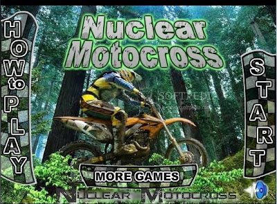 لعبة سباق موتوسيكلات Nuclear Motocross