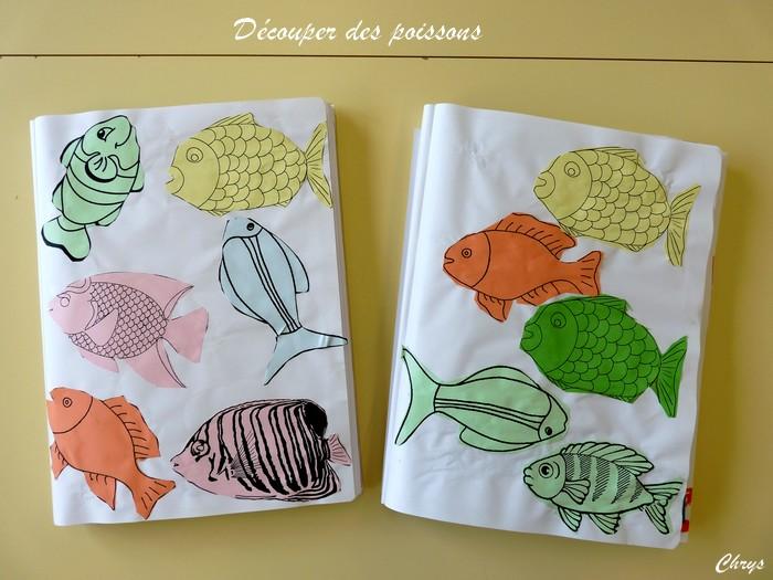 Le journal de chrys le th me des poissons en maternelle - Poisson en maternelle ...