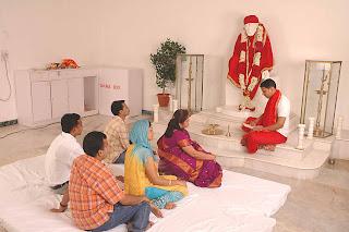 Temple at Hotel Sai Sahavas