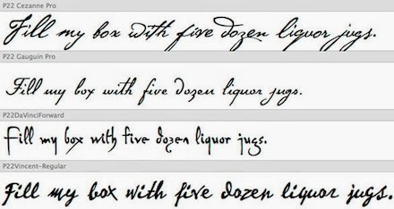 Handwriting Examples