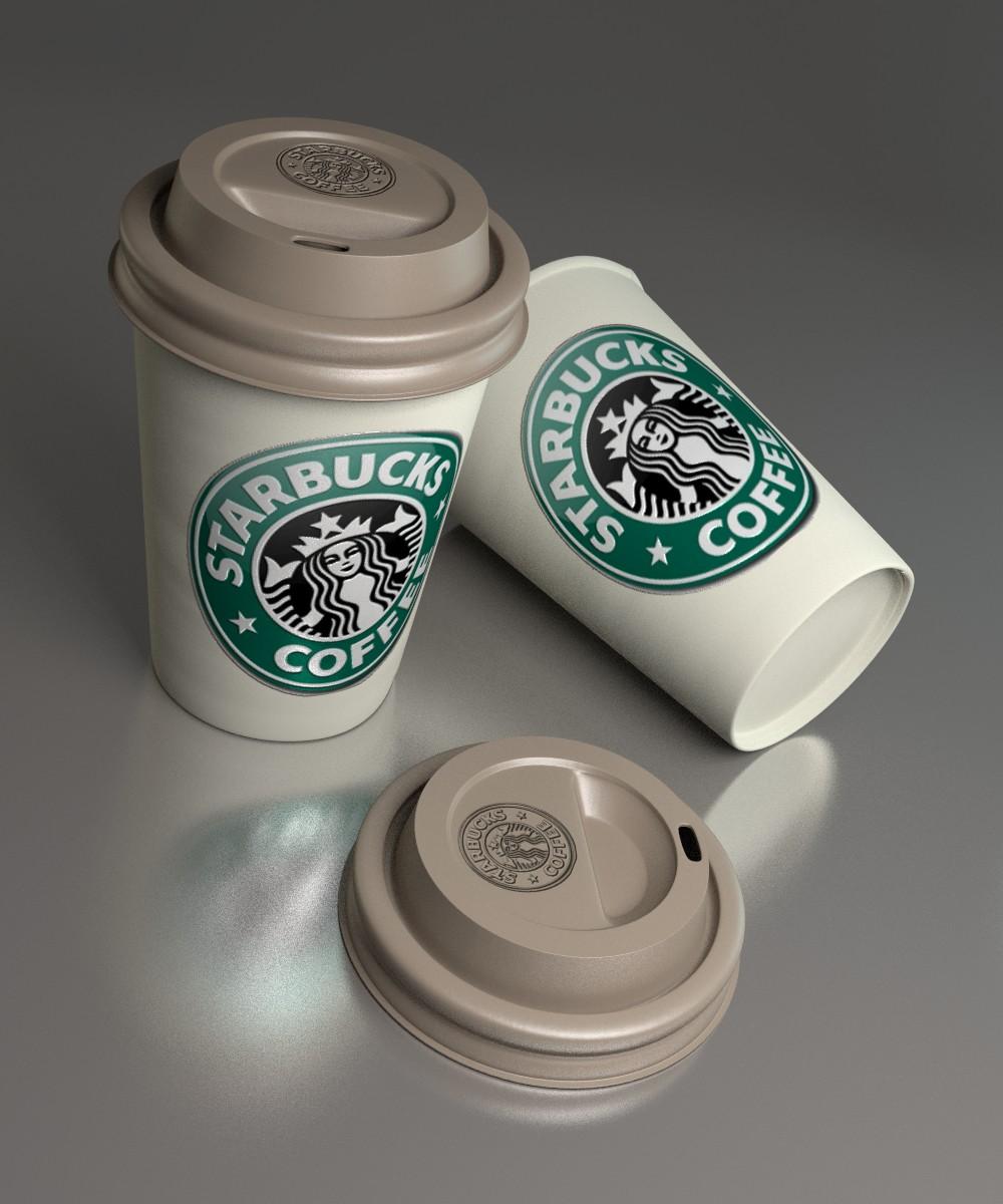 blender360 cycles coffee cup vaso de caf