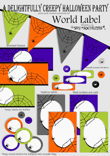 Free Halloween Spider Web Printables