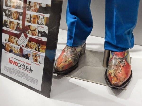 Billy Mack Love Actually costume shoes