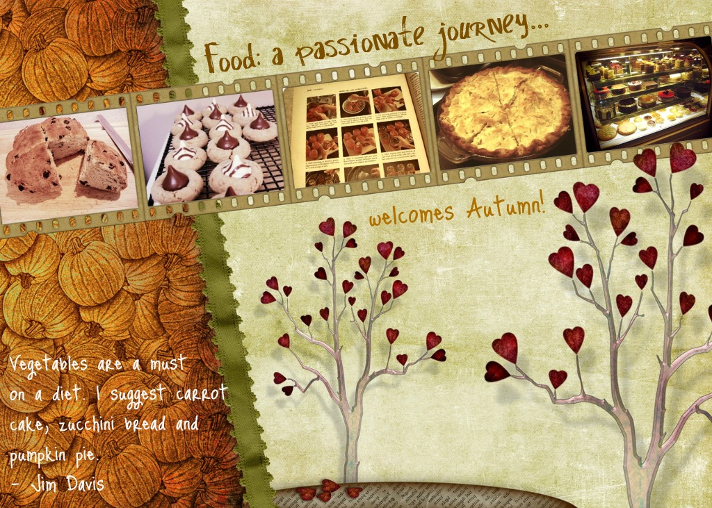Food: a passionate journey...