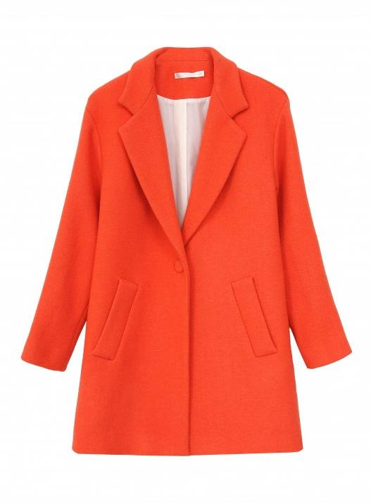 See U Soon Orange Long Coat