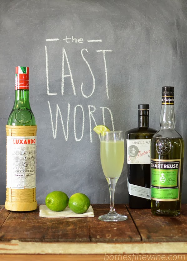 Last Word - Chartreuse Cocktail Drink Recipe