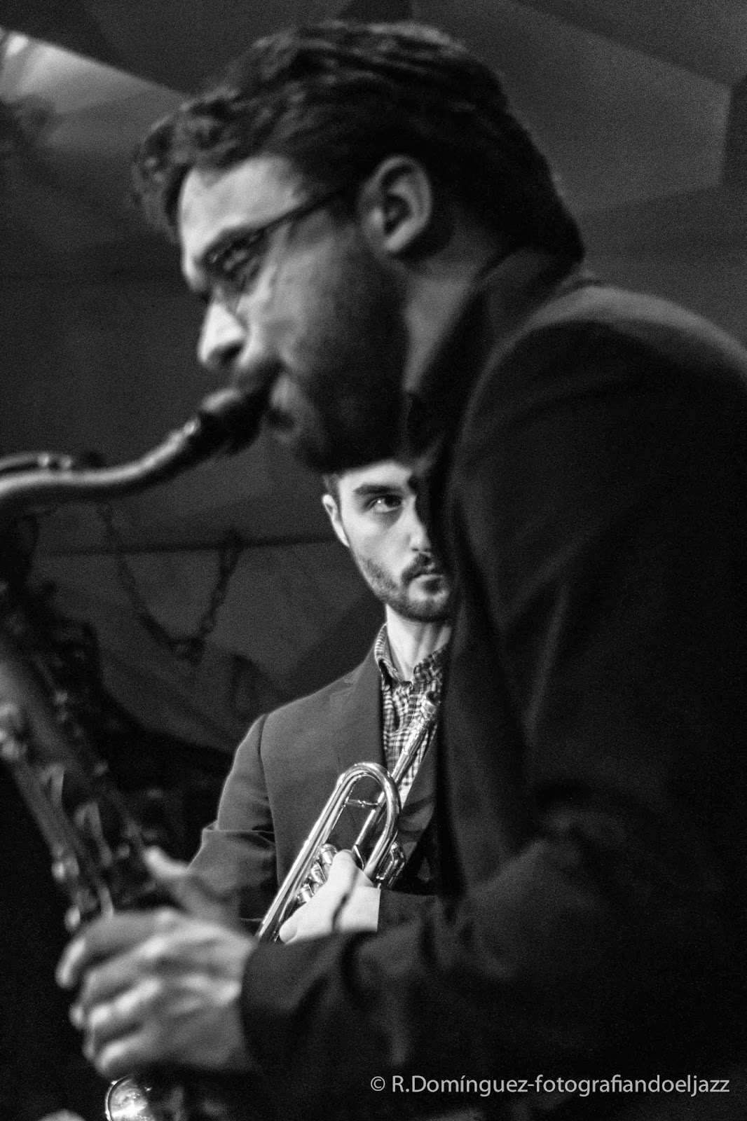 © R.Domínguez - Smack Dab Quintet - Lluc Casares - Oriol Vallés
