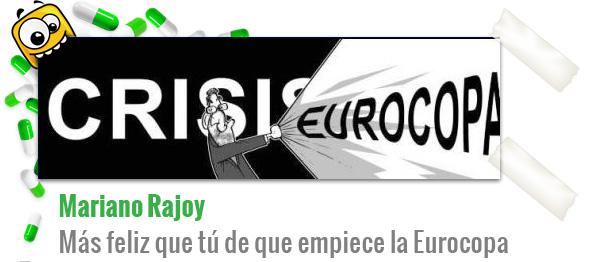 Chiste de Eurocopa: Mariano Rajoy y la Crisis