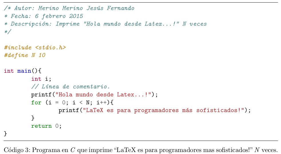 Solución al problema de mostrar acentos en Latex usando minted.