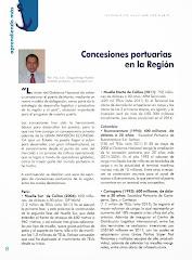 PRINCIPALES CONCESIONES PORTUARIAS EN LA REGION